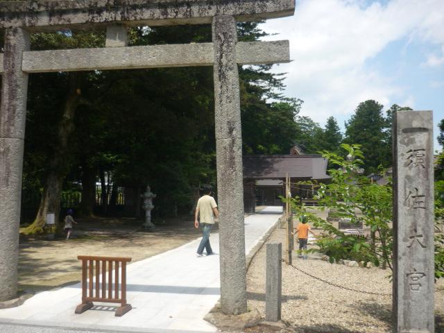 お隣り出雲の須佐神社